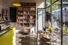 Retail finalist: Pope Joan Produce Store by Figureground Architecture.