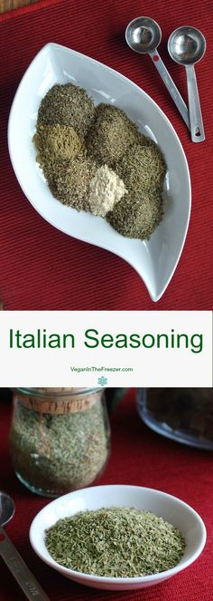 Italian seasoning adds so much to a sauce or casserole. You probably have all of the herbs in your cupboard already. A little measuring and you are done.