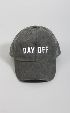 8c36baa032914 Friday + saturday  day off hat