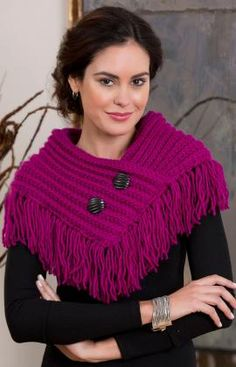 Fringed Cowl Free pattern   Go to; http://pinterest.com/DUTCHYLADY/share-the-best-free-patterns-to-knit/ for 2000 and more FREE knit patterns