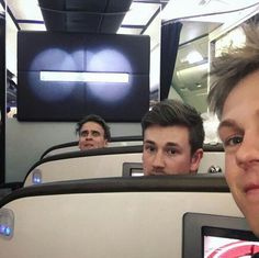 Caspar Lee, Oli White, and Joe Sugg.