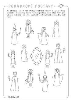 Worksheets, Fairy Tales, Kindergarten, Activities, Education, School, Poster, Carnavals, Fairytail