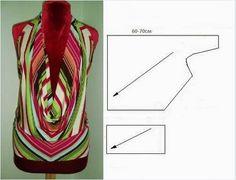 Moda e Dicas de Costura: DRAPEADO