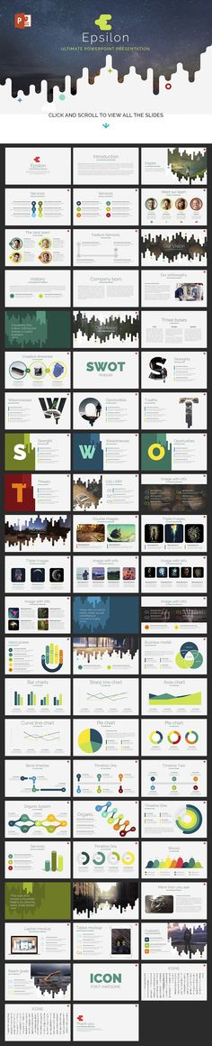 Top Notch Powerpoint Bundle by Zacomic Studios on @creativemarket