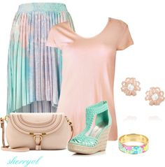 """""""Wedge Sandals"""" by sherryvl on Polyvore"""