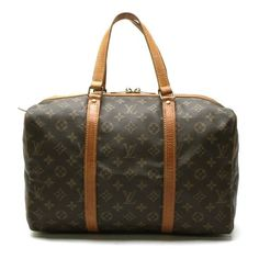 Louis Vuitton  Sac Souple 35 Monogram Luggage Brown Canvas M41626