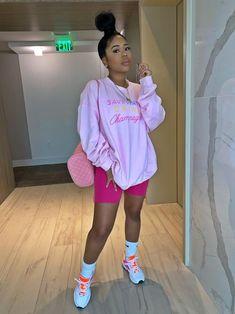 Black Girl Fashion, Tomboy Fashion, Streetwear Fashion, Teen Fashion, Fashion Outfits, Korean Fashion, Cute Swag Outfits, Chill Outfits, Dope Outfits