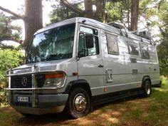 Mercedes Camper, Bus Camper, Mercedes Vario, Camper Van Life, Sprinter Camper, Off Road Camper, Minivan Camper Conversion, Small Motorhomes, Expedition Vehicle
