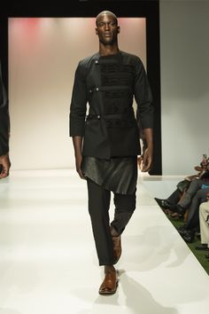 THIS OUTFIT ITS AN OUTFIT THAT EVRY MAN IS WISHING TO HAVE, BECAUSE THE DOLZ TESTED AND MANAGE TO MANIPULATE THE FABRIC TO MAKE A GOOD LOOKING GENT LOOK DAPPER AND UNIQUE. WITH A HIGH WAISTED PANTS AND APRON SKIRT TO ADD THE VALUE IN THE FUTURE OF MANSWEAR Looking Dapper, Apron, How To Look Better, Future, Unique, Skirts, Fabric, Pants, Outfits