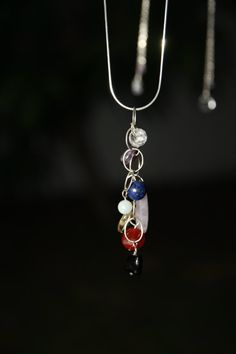 Mother's day Chakra balancing necklace by seadragongems on Etsy, $25.00