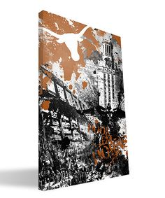 Another great find on Texas Longhorns Spirit Wall Art by Paulson Designs Longhorns Football, Texas Longhorns, Hook Em Horns, Xmas Wishes, I Love My Son, Orange Is The New Black, Texans, Canvas Prints, Wall Art