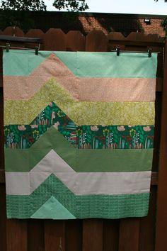 blip quilt with tutorial - melintheattic