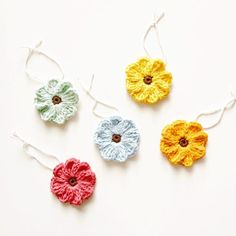 Zoe Crochet Flower Pattern  Tutorial
