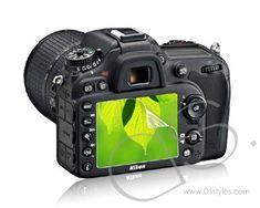 Nikon D7100 Screen Protector - Transparent http://www.dsstyles.com/camera-accessories/screen-protectors-nikon-d7100-screen-protector-transparent.html