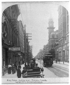 Toronto, ON > King Street in 1909