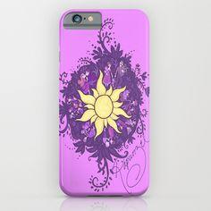 Tangled: Rapunzel's Kingdom Dance Chalk Drawing iPhone & iPod Case