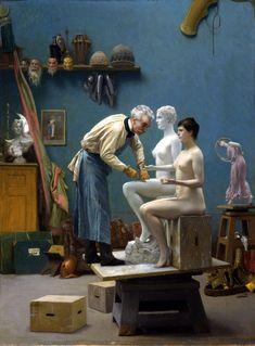 jean_leon_gerome_113_the_artists_model.jpg 1.402×1.900 Pixel