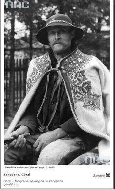 Carpathian Poles - Page 3 Polish Clothing, Zakopane Poland, Polish Folk Art, Folk Costume, Historical Pictures, Old Art, World Cultures, Europe, Art And Architecture