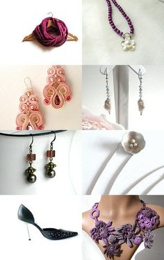Here is a treasury made by AnnyMay!  *******  Voici une vitrine offerte par AnnyMay!     https://www.etsy.com/treasury/NjM1MjM3MnwyNzIxNjY1MjQ5/glamour