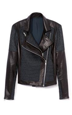 Peak Jacquard jacket by Helmut Lang :O