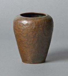B Shop Hammered Copper Warty Vase.