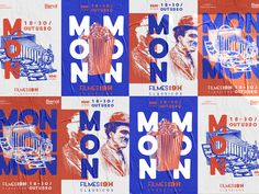 MON Classic Films Festival by Aline Tepasse Bartel on DribbbleYou can find Film festival and more on our website.MON Classic Films Festival by Aline Tepasse Bartel on Dribbble Poster Cars, Poster Sport, Poster Retro, Film Poster Design, Event Poster Design, Event Design, Event Posters, Poster Designs, Poster Festival
