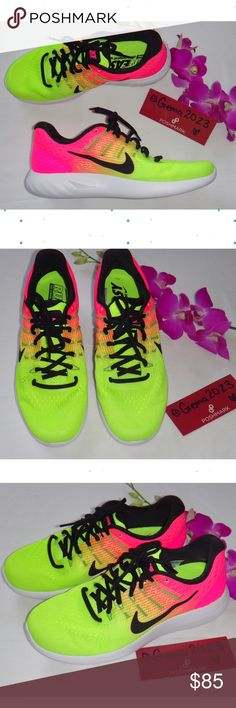 Nike Run Easy Neon Pink NEW! SHOE Size: 9 Nike LUNARGLIDE 8 OC NEW WITHOUT BOX  100% Authentic   NO TRADE  Please note: Colors might appear a bit darker OR lighter due to differences in phone/computer monitor. Nike Shoes
