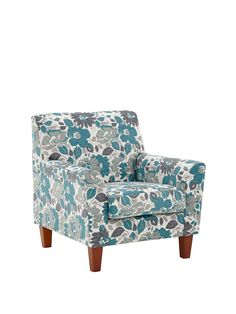 Celina Floral Patterned Chenille Accent Chair in Black/Charcoal, Chocolate/Mink, Grey/Teal 84 x 84 x 86 cm This breathtaking accent chair is designed to complement the sofas, corner chaises and armchair from the Celina collection, which are all available separately. Fabulous floralsSoft and textural chenille is sent into full fashion bloom by a retro floral design that matches the accent cushions found on the rest of the Celina range. Bring the colourGo darkly chic with black/charcoal…