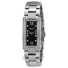 Raymond Weil Shine Diamond Grey Dial Stainless Steel Ladies Watch 1500-ST2-00785 for only $977.41 You save: $2,672.59 (73%)