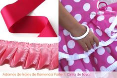 diy flamenca | Trajes de flamenca | La Hilandera Mercería y Labores