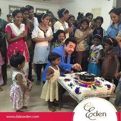 Celebrating Ajaz khan's birthday with Eden Cakes..#BirthdaySpecial