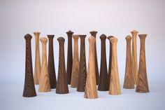 Chess design. Olive wood/wenge