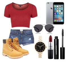 K C by akaelif on Polyvore featuring polyvore fashion style Topshop Current/Elliott Timberland Marc by Marc Jacobs The Row Bobbi Brown Cosmetics MAC Cosmetics women's clothing women's fashion women female woman misses juniors
