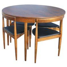 Vintage Teak Danish Dining Set (rare) in West Side, Chicago ~ Apartment Therapy Classifieds