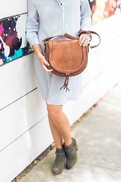 This boho saddle bag is perfect to carry all year round! | Sole Society Thalia