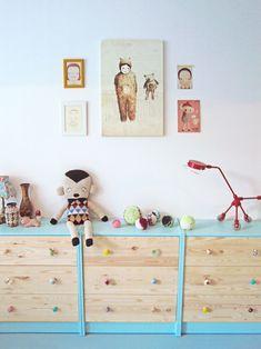 Ikea hack in a kids room