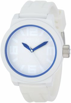 Kenneth Cole Reaction Men's RK1243 Triple White Blue Details Watch: Watches: white watches for men