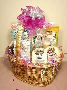 Wedding giftart of appreciation gift baskets sweet passions gluten free gift baskets gifts gone gourmet negle