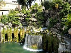 Crafted Living blog - The largest fountain at Tivoli