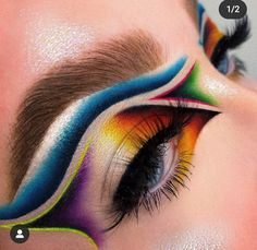 Makeup Eyes, Beauty Makeup, Hair Makeup, Exotic Makeup, Face Charts, Creative Makeup Looks, Cut Crease, Samurai, Bob
