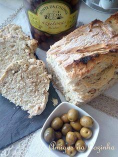 Amigos na Cozinha: Pão de Azeitona