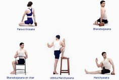 B K S Iyengar - Iyengar Yoga - Asanas - Twisting Asanas