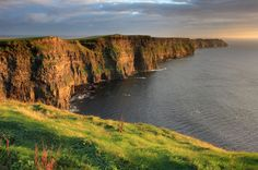 Cliffs Of Moher Co. Clare Ireland Photograph by Pierre Leclerc - Cliffs Of Moher Co. Clare Ireland Fine Art Prints and Posters for Sale Adventure had! Irish Landscape, Ireland Landscape, Landscape Art, Landscape Photography, Landscape Wallpaper, Clare Ireland, County Clare, Thing 1, Cliffs Of Moher