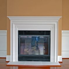 fireplace - seems kind of plain