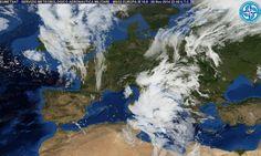 Meteo 7 Novembre 2014: perturbazioni al Centro e al Sud portano temporali e potenziali alluvioni. Monitorare Meteoam   The Horsemoon Post