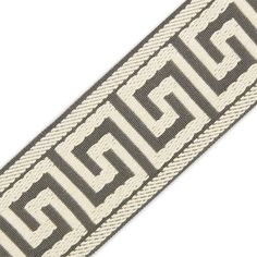 """For trimming pillows or curtains  2 3/8"""" (60MM) GREEK KEY JACQUARD - M&J Trimming"""