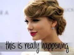 Taylor Swift - This Is Really Happening - Lyrics