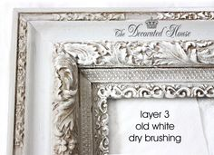 How To : Antique Glaze and Wet Distressing - A Perfectly Imperfect Frame with Annie Sloan Paris Grey Chalk Paint The Decorated House :: How to Distress and Glaze with Chalk PaintThe Decorated House :: How to Distress and Glaze with Chalk Paint Paris Grey, Chalk Paint Projects, Chalk Paint Furniture, Furniture Refinishing, Do It Yourself Furniture, Do It Yourself Home, Decoration Christmas, Decoration Table, Mirror Painting