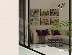 Um revestimento sóbrio para um ambiente bem decorado e aconchegante, aposte nesta cor! Ref. PDI35210 | 45x45cm | Acetinado #sala #livingroom #incefra #piso #pisoceramico #decor #decoracao #ceramica