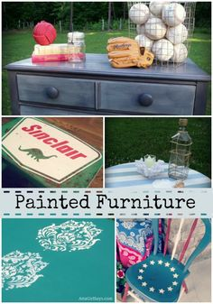 Handpainted Furniture by Atta Girl Says